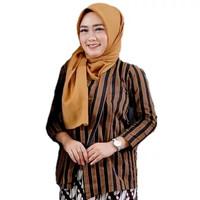 Baju Surjan / Lurik / Batik Adat Jawa Wanita / Cewek
