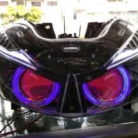 Headlamp Projektor Vario 125 & Vario 150 New
