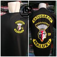 kaos/t-shirt keren SATU DARAH MALUKU terlaris