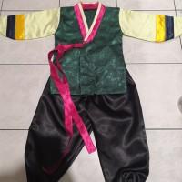 hanbok anak baju adat tradisional korea laki laki costume kostum