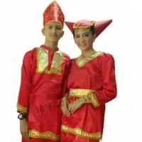 Baju padang Sma - Dewasa/Pakaian adat sumatra