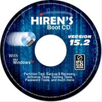 Hiren Boot CD 15.2 SSFGX2252