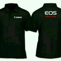 tshirt baju Kaos Kerah CANON TERLARIS - HIGH QUALITY