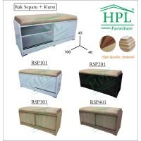 RAK SEPATU KURSI HPL RSP01