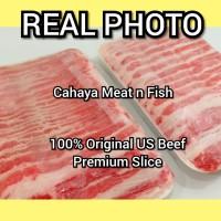 US Beef Slice 1mm - Daging Sapi Slice Yoshinoya Yakiniku Shabu 500gr