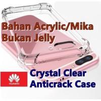 Huawei Honor 7A/Honor 9 Lite - Crystal Clear Anticrack Hard Case