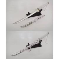 Katana wakizhasi bankai putih corak