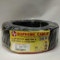 kabel NYYHY / kabel serabut 2x0,75 supreme potongan.