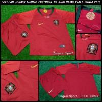 Jual Jersey-Baju Bola Setelan Kids-Anak Portugal Merah Piala Dunia-
