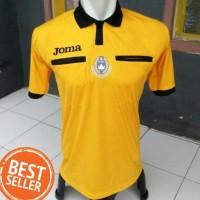 Baju Seragam Wasit Sepakbola Joma | Costum Referee Futsal ( KUNING) -
