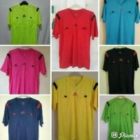 Baju Seragam Wasit Sepakbola / Futsal Referee Adidas PD14 Warna BIRU -