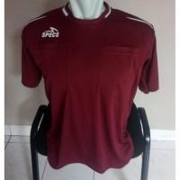 Stelan Baju Seragam Wasit Sepakbola SPECS Liga 1 2019 - Putih, M