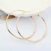 anting fashion bulat big simple earrings jan178