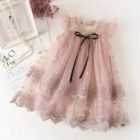 baju anak perempuan/dress princess tule