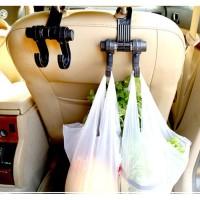 HSI Car Seatback Hook Hanger Gantungan Barang Tas Belanja Kait Mobil