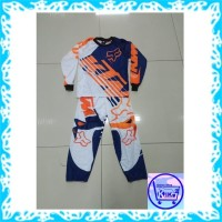 baju tidur anak Setelan Anak Motor Cross / Baju MotorCross Anak ktm