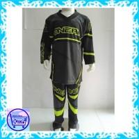 baju tidur anak Setelan Motor Cross / Baju MotorCross oneal abu