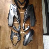 fering fairing full set ninja RR mono / z250 sl gray original