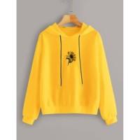 Matahari Flower Hoodie Baju Wanita Best Seller Shirt 5266