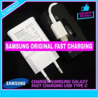Fast Charger Samsung Galaxy M20 M30 A50 A60 A70 Original 100% Type C - Putih