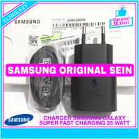 Charger Samsung Galaxy A70 A80 Super Fast Charging Original SEIN 100% - Hitam