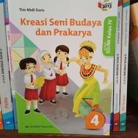 Buku Buku Kreasi SBK SD kelas 4 K13 revisi