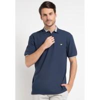 Jack Nicklaus Champion-2 Polo Shirt Pria Regular Fit Navy