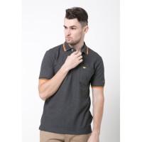 Jack Nicklaus Universal-3 Polo Shirt Pria Regular Fit Abu-abu