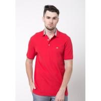 Jack Nicklaus Champion-2 Polo Shirt Pria Regular Fit Merah