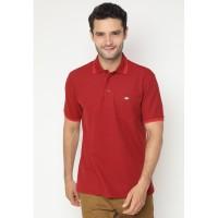 Jack Nicklaus Universal-3 Polo Shirt Pria Regular Fit Merah