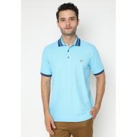 Jack Nicklaus Ohio-2 Polo Shirt Pria Regular Fit Sky Blue