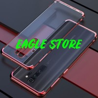 SOFT TRANSPARANT ELECTROPLATED REDMI NOTE 8 PRO BACK CASE COVER CASING