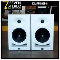 Kali Audio LP6 White Speaker Studio Monitor Flat