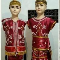 Baju Kalimantan Barat Baju Adat Kalimantan Size L - XL