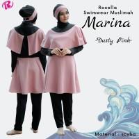 Baju Renang Muslimah Jumbo + Rocella Swimwear Marina XXL_XXXL + ORI