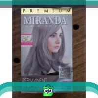 Cat Pewarna Rambut Permanent Miranda Ash Blonde ( mirip Abu Abu )