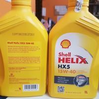 Oli Mesin Shell Helix HX5 HX 5 15W-40 1Liter
