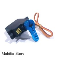 Upgrade Part - Servo Rc MN Metal Gear+Metal Arm Support Propo Steering