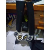 Aksesoris mobil pilar 3 way isuzu panther fullset speaker
