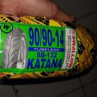 Ban Motor Matic Ring 14 Swallow 90/90-14 Katana SB-132 Tubeless