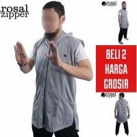 ROSAL Rompi Sholat Rosal Zipper Jumbo XS - XXXL Bukan Baju Koko Gamis