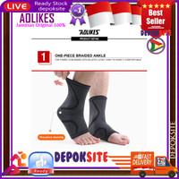 1 Pcs AOLIKES 7132 Ankle Support Pelindung Ankle Kaki Ankle Bracer