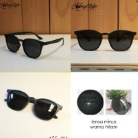 Kacamata Pria Lensa Minus Warna Hitam Type HT6273