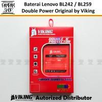 Baterai VIKING Double Power Lenovo BL259 Vibe K5 K5+ Plus Batre Batrai