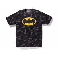 A Bathing Ape BAPE x DC Batman Color Camo Tee Black