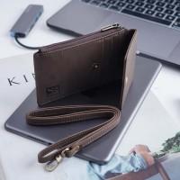 Dompet id card kulit asli crazy horse   slim wallet-ISHIYA POTALA-