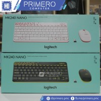 Logitech MK240 Nano Wireless Mouse Keyboard Combo