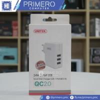 Unitek Smart Wall Charger 24W 1 Port QC 2.0   2 Port USB