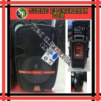 Promo Speaker Portable Wireless Meeting Asatron HT-8870 12 Inch Bagus