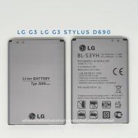 Baterai batre LG G3 dan G3 Stylus D690 BL-53YH BL53YH Battery Ori